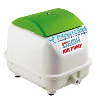 Compresseur à membrane SECOH JDK-40 pour aquarium et batterie d'élevage.