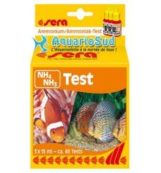 SERA Test NH3 / NH4 - Test en gouttelettes pour Ammonium / Ammoniaque