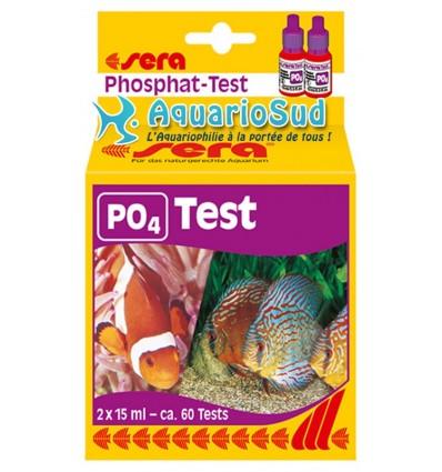 SERA Test Phosphates (PO4) - Test en gouttelettes