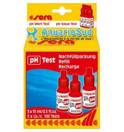 SERA Test pH - Set complémentaire 3x flacons