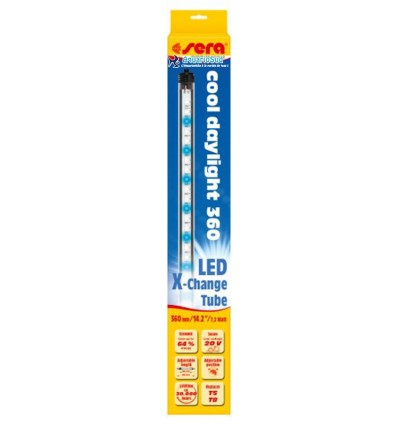 Sera LED X-Change Tube T5/T8 cool daylignt 36cm - éclairage aquarium