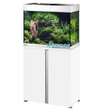 Ensemble Aquarium et Meuble MP Proxima 175 - Blanc brillant