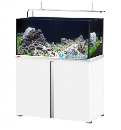 Aquarium-Meuble MP Proxima Plus 250 - LED - Blanc brillant