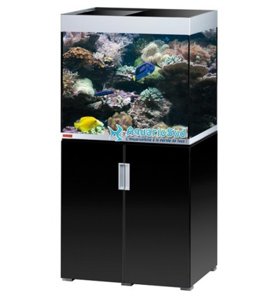Aquarium et Meuble MP Incpiria Marine 200 - Noir brillant