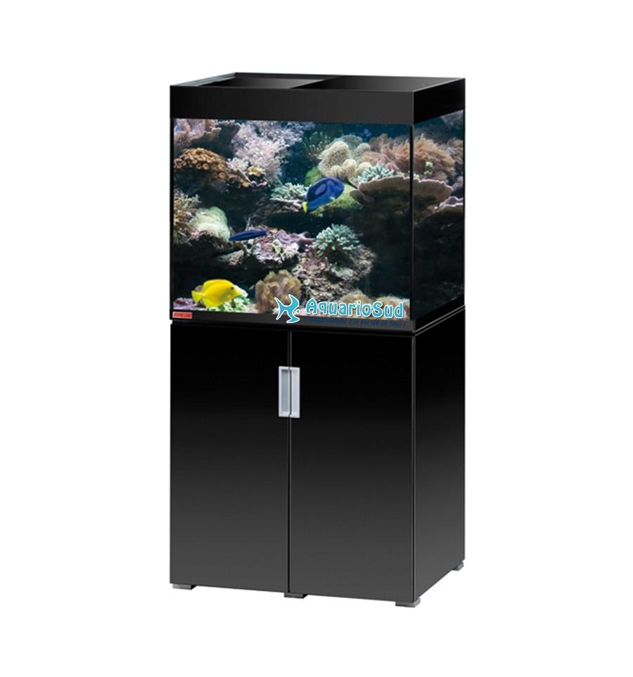 Ensemble aquarium et meuble eheim mp incpiria marine 200 for Aquarium et meuble