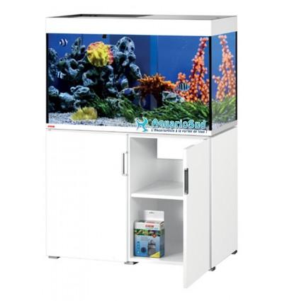 Aquarium et Meuble MP Incpiria Marine 300 - Blanc brillant