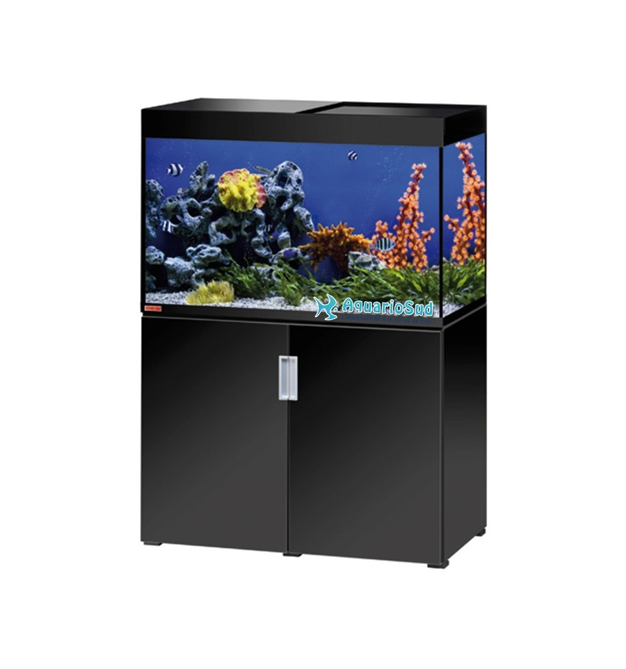 ensemble aquarium et meuble eheim mp incpiria marine 300 noir. Black Bedroom Furniture Sets. Home Design Ideas