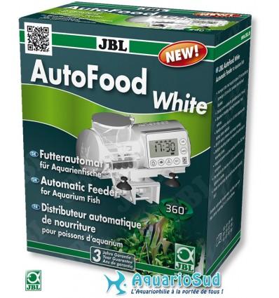 Distributeur de nourriture pour poisson d'aquarium JBL AutoFood Blanc