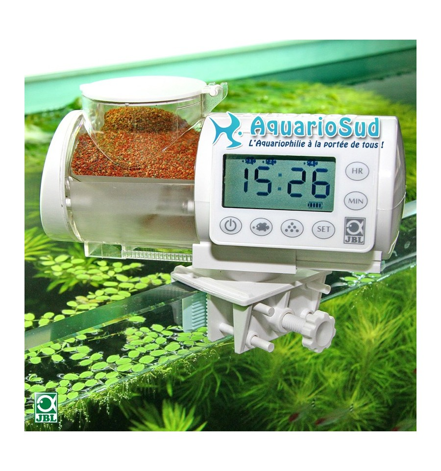 Jbl autofood white distributeur automatique de for Nourriture aquarium