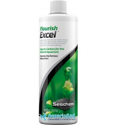 SEACHEM Flourish Excel est du carbone liquide, flacon de 500 ml